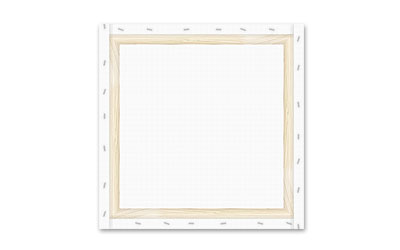Tailored canvas frames